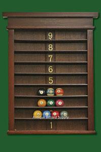 Antique Billiard Supply Ball Racks