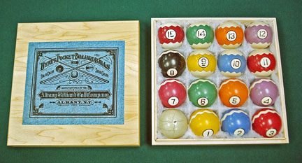 Antique Billiard Supply Antique Clay Balls Stunning Pool Ball Decorations