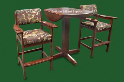 Antique Billiard Supply Furniture - Hippopotamus pool table
