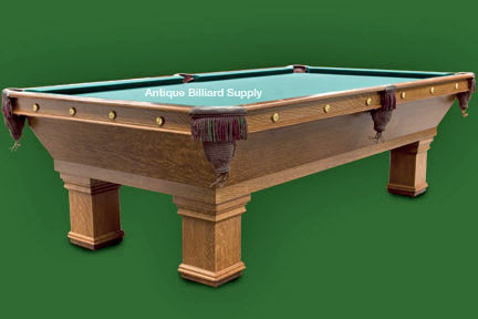 7e3ff926e7dd7 Antique Billiard Supply  Classic Brunswick Pool Table