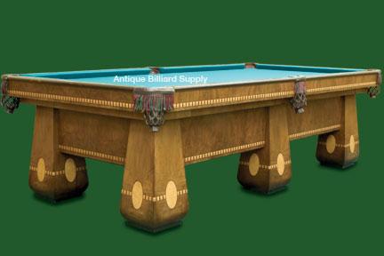 e58fa1664611 Antique Billiard Supply  Brunswick Medalist six legs