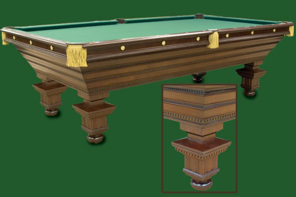 Antique Billiard Supply Pool Tables - Old brunswick pool table